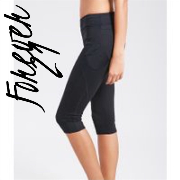 1f829fd5af Forever 21 Pants | Capri Workout Leggings Black | Poshmark
